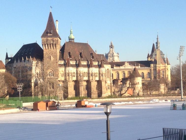 I took this last December at Vajdahunyad Castle
