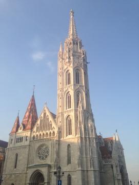 Mathias church by the Buda Castle